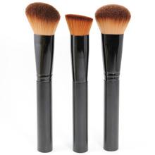 High Quality Makeup Brushes Set  3pcs Multipurpose Face Brush For Foundation Powder Blush With Gift