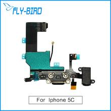 20 шт./лот для iPhone 5C зарядка гибкий кнопка включения / выключения замена ленты бесплатная доставка