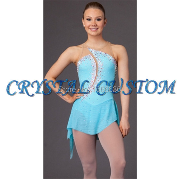 New Style Figure Ice Skating Dresses With Spandex New Brand Vogue Figure Skating Competition Customized Dress DR2993Одежда и ак�е��уары<br><br><br>Aliexpress