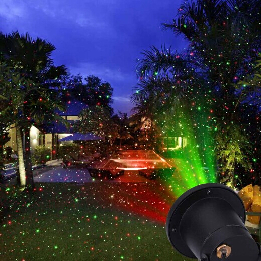 laser light projector thousands of red green stars indoor outdoor. Black Bedroom Furniture Sets. Home Design Ideas