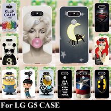 Buy LG G5 HARD Plastic Mobile Phone Cover Case DIY Color Paitn Cellphone Bag Shell for $1.22 in AliExpress store