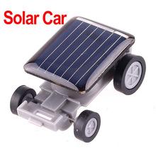 Mini Car Solar Powered Toy Car Children Solar Toy Gift ,4pcs/lot ,wholesale(China (Mainland))