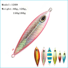 2pcs/lot 40g New disign lead fishing lure metal jig lure lead blade lure squid lure free shipping