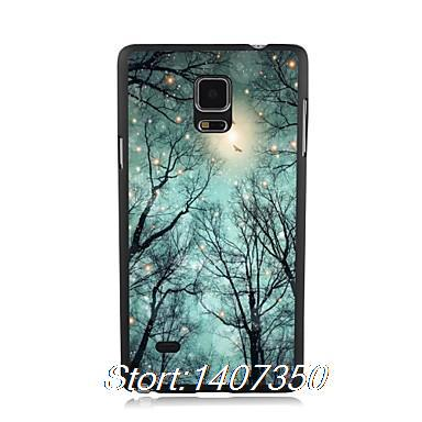 Starank Beautiful Fireflies pattern elegant Plastic hard phone case for samsung note 4 High Phone Cases For Wholesales Brand New(China (Mainland))