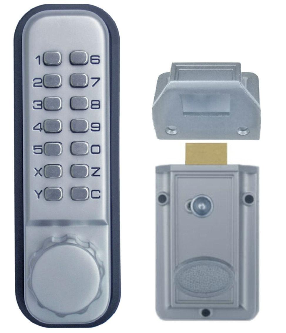 Free-Shipping OSPON OS10D The 1th generation of mechanical locks Keyless Digital Machinery Code Keypad Password Entry Door Lock(China (Mainland))