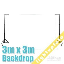 10ft x 10ft/3m x 3m White Photo Studio Solid Muslin Backdrop Background  photography backdrops photo background white  PSB2A