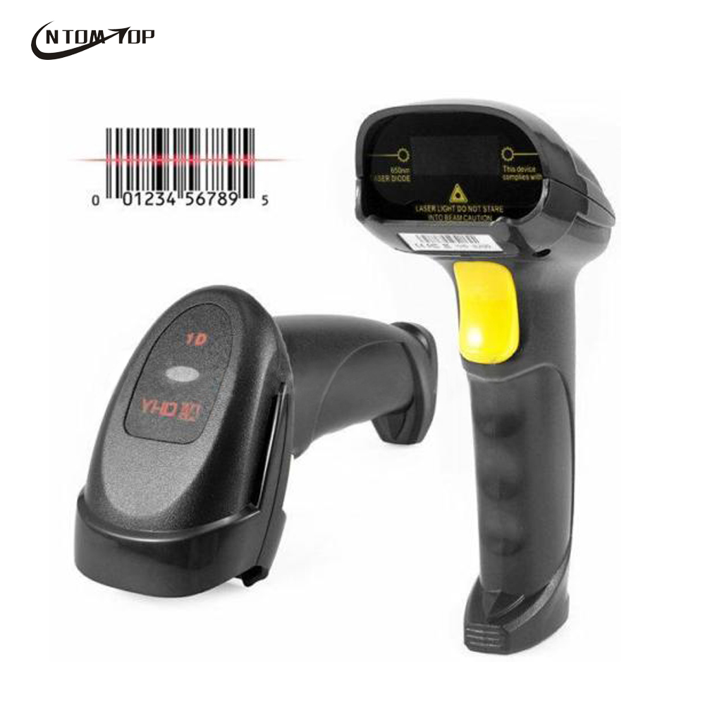 High Scan Speed Scanner Laser Wired Barcode Scanner 120times/s 32bit USB Barcode Reader Portable Handheld Code Scanner Free Ship(China (Mainland))