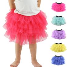 Wennikids fashion summer girls skirt ball gown princess fluffy pettiskirt baby tulle layered tutu short skirts party tutu skirt