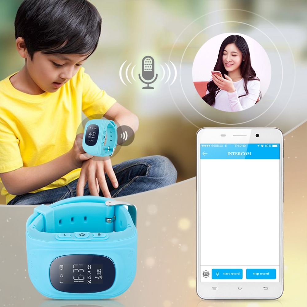 Childrens Wristwatch Q50 – GSM SOS/GPS Locator Tracker