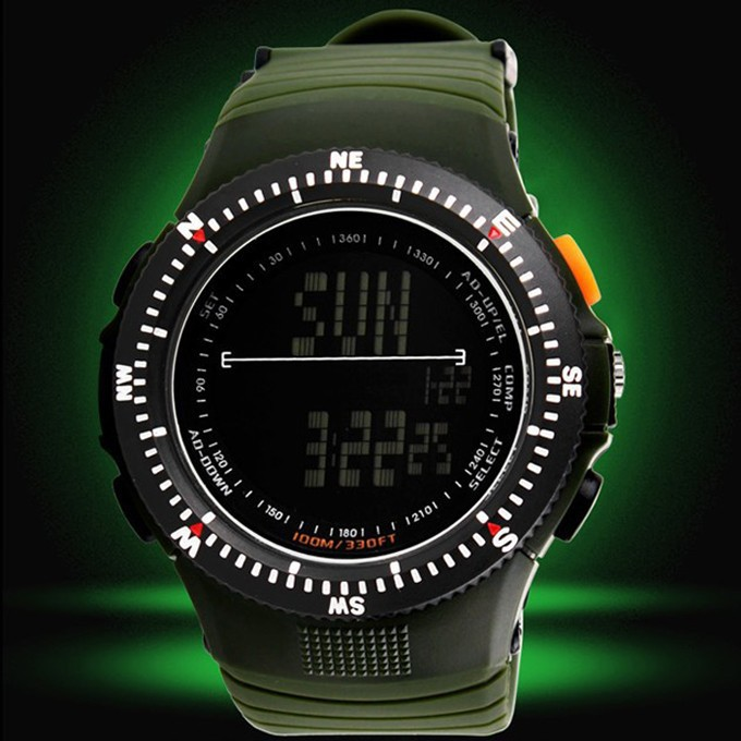2015 New Brand Skmei Watches Men LED Digit Military Watch Dive Swim Sports Watches Fashion Waterproof Outdoor Dress Wristwatches<br><br>Aliexpress