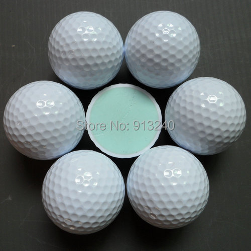 Cheap 2-piece golf tournament balls(China (Mainland))