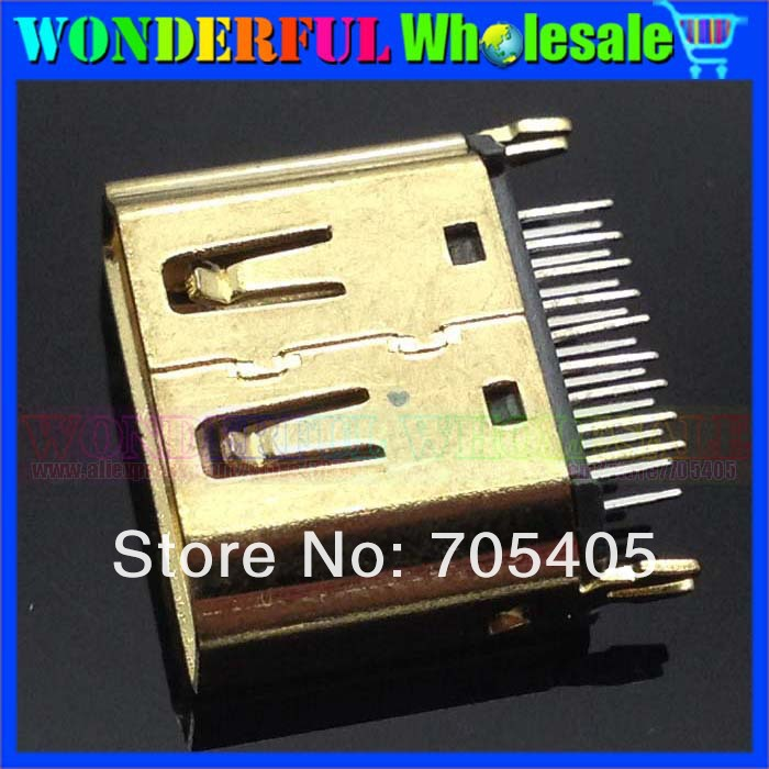 HDMI connector Female Socket 19P Micro HDMI Jack *100<br><br>Aliexpress