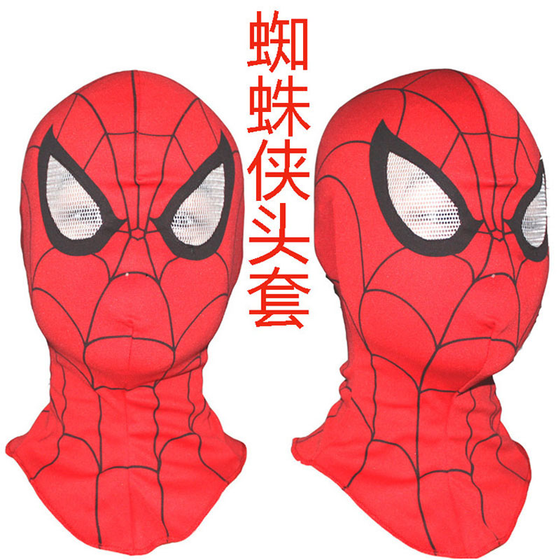 Super Cool Spiderman Cosplay Party Masks Full Head Face Halloween Masks(China (Mainland))