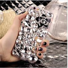 Luxury Bling Crystal Lips Rhinestone Diamond Case Huawei P8 lite 2017 Honor 8 Lite oneplus 3 nokia 6 - Online Store 519447 store