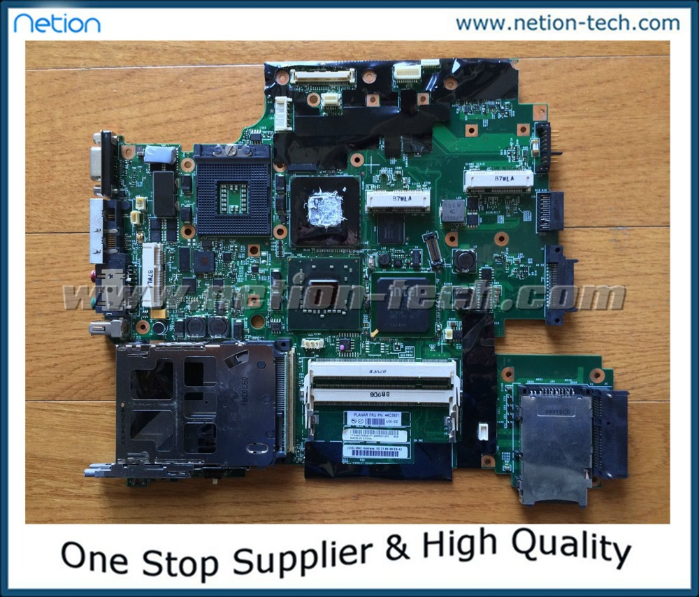 """100% Original 44C3931 Laptop Motherboard for Lenovo Thinkpad T61 T61P 15.4"""" INTEL with nvidia graphics(China (Mainland))"""