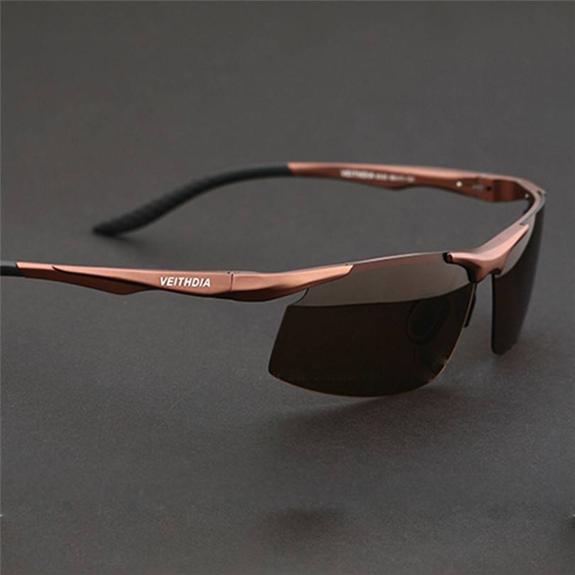 2015 Veithdia Aluminum Magnesium Men Polarized Sport Happy Freedom Sunglasses Mirror Driving Sunglass Oculos De Sol