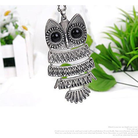 Promotion Price Fashion Elegant Women Owl Necklace Hot Sale XL61101