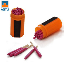 20pcs Emergency Tool Survival Kit Windproof Waterproof Portable Extra-large Head Matches for Outdoor Camping Fire Macthes