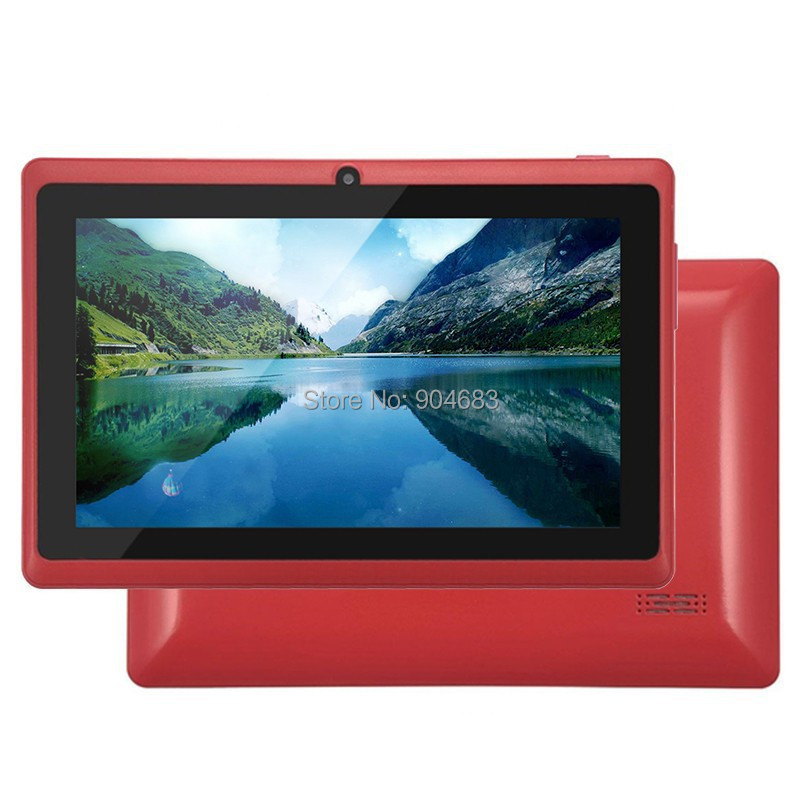 7 inch Dual core A23 Q88 Q8H 1 5GHz android 4 4 2 Kids tablet pc