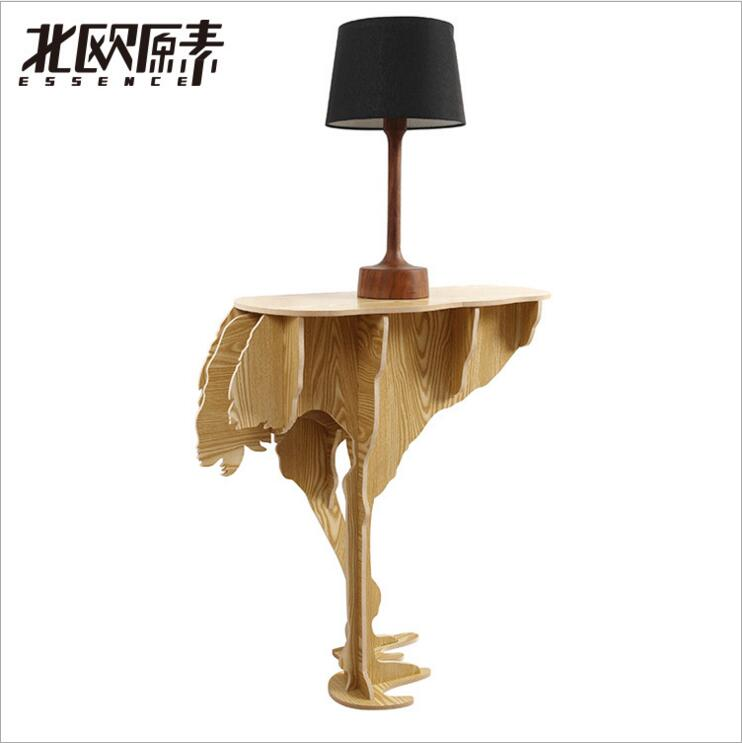 Strange new creative home / Creative Home Products / Ostrich tables Nordic creative wall decor(China (Mainland))