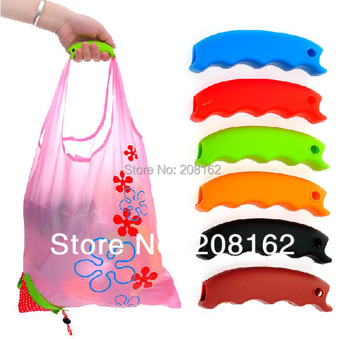 Carrying Handle Tools Silicone Knob Relaxed Carry Shopping Handle Bag Clips Handler Kitchen Tools (mini order 10 usd)(China (Mainland))