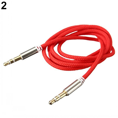 3.5mm Male to Male Car Aux Auxiliary Cord Stereo Audio Cable Wire for Phone iPod(China (Mainland))