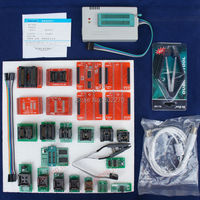 TL866A Programmer EPROM SPI FLASH AVR PIC ICSP in-circuit programming+24 components include 25 flash adapter &1.8V flash adapter