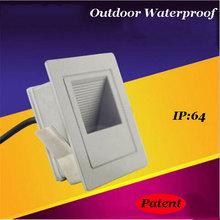 ( WECUS ) 86 тип открытый шаг, из светодиодов встроенный рампы, сад / открытый лестница огни, IP : 64, 85 — 265 В