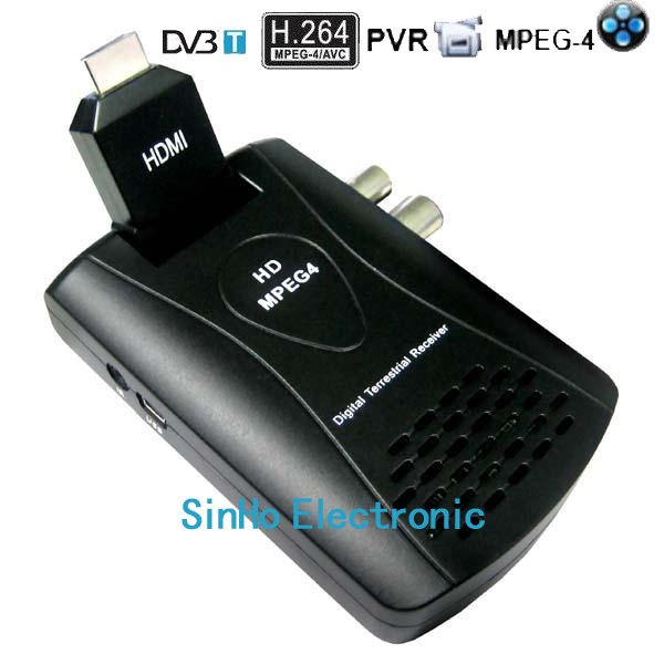 DVB-9005/Support Full HD 1080P H.264/Mpeg4 Mini Scart Terrestrial Receiver Tv Tuner Dvb-t Freeview Receiver Box HDTV(China (Mainland))