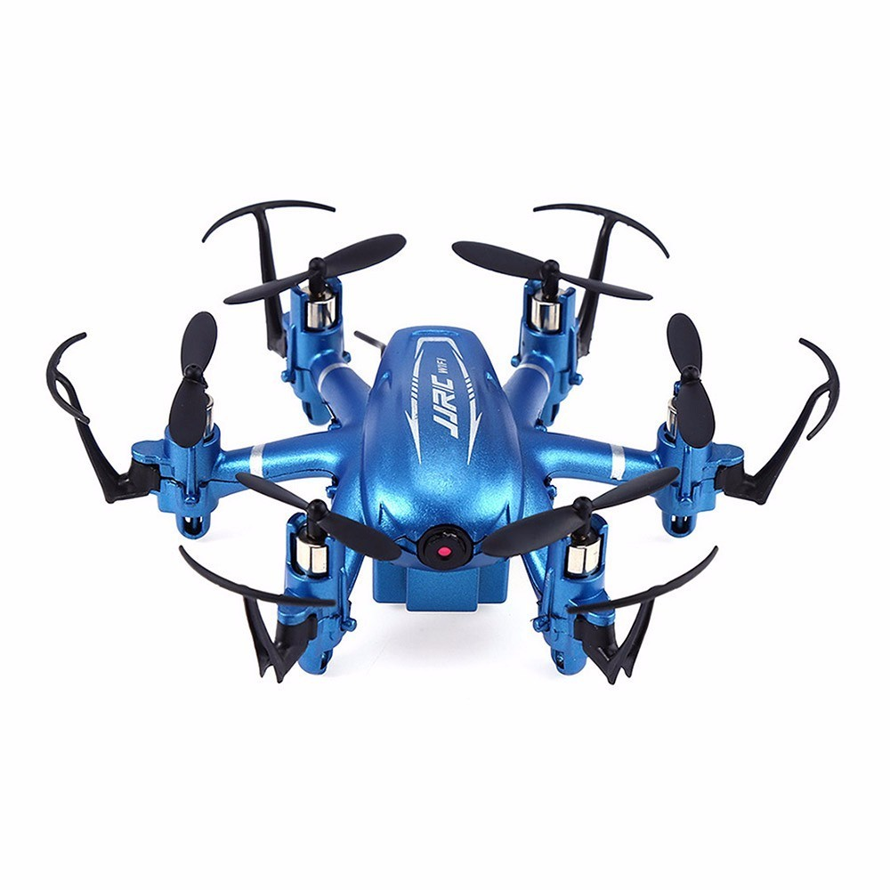 JJRC H20W RC font b Drone b font With Camera 2MP Wifi FPV RC Helicopter Camera