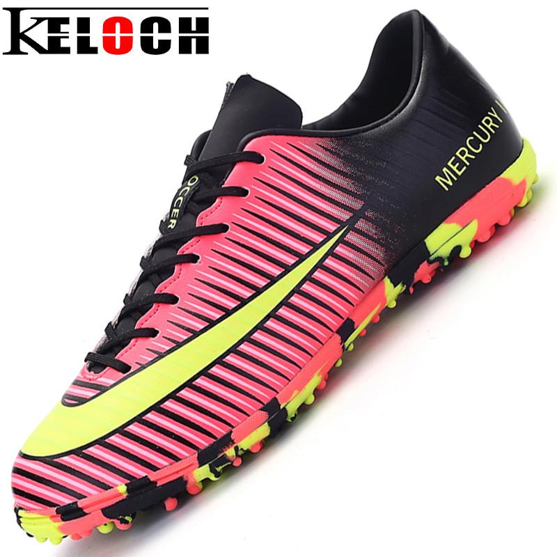 Keloch New arrive Sneakers Men Soccer Shoes Male Trainers Cleats Football Boots botas de futbol Chuteira Futebol Sports Shoes(China (Mainland))