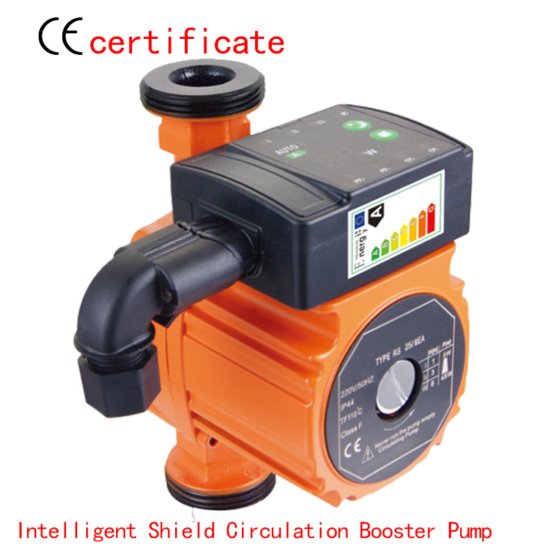 CE Approved Intelligent circulation booster pump RS25-6EAA,pressurized with industrial equipment, air condition, warm water(China (Mainland))