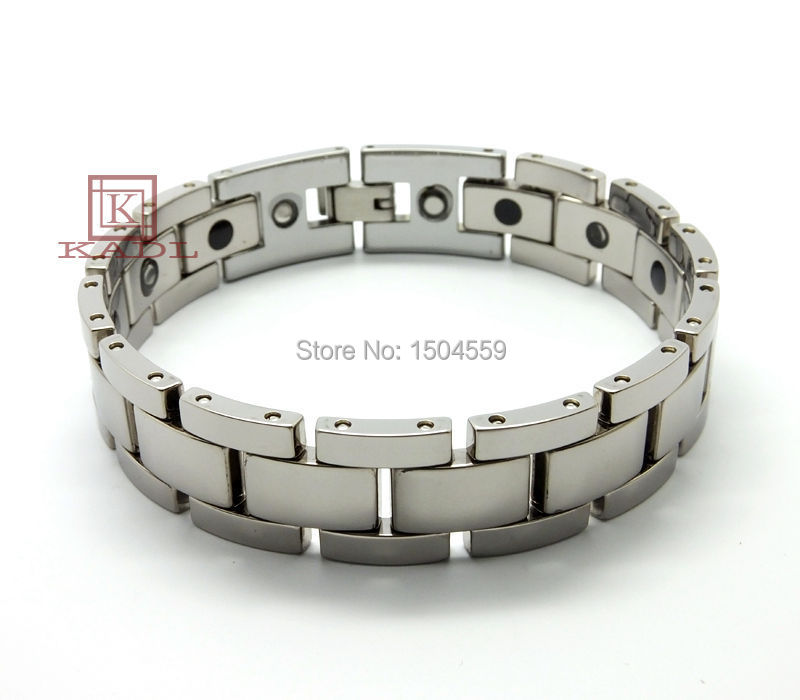 Neutral fashion tungsten bracelet wild men jewelry love connector bracelet men fashion jewelry tungsten bracelet inspirational(China (Mainland))