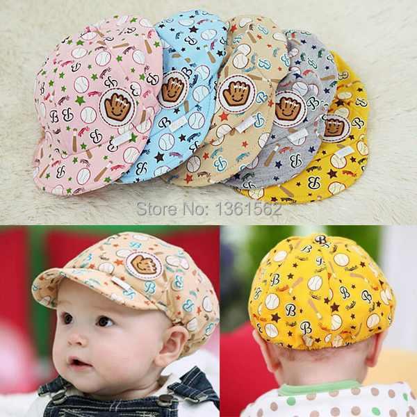 1PCS Summer Baby Boy Girl Kid Toddler Infant Hat Casquette Peaked Baseball Beret Cap Free Shipping uTkL(China (Mainland))