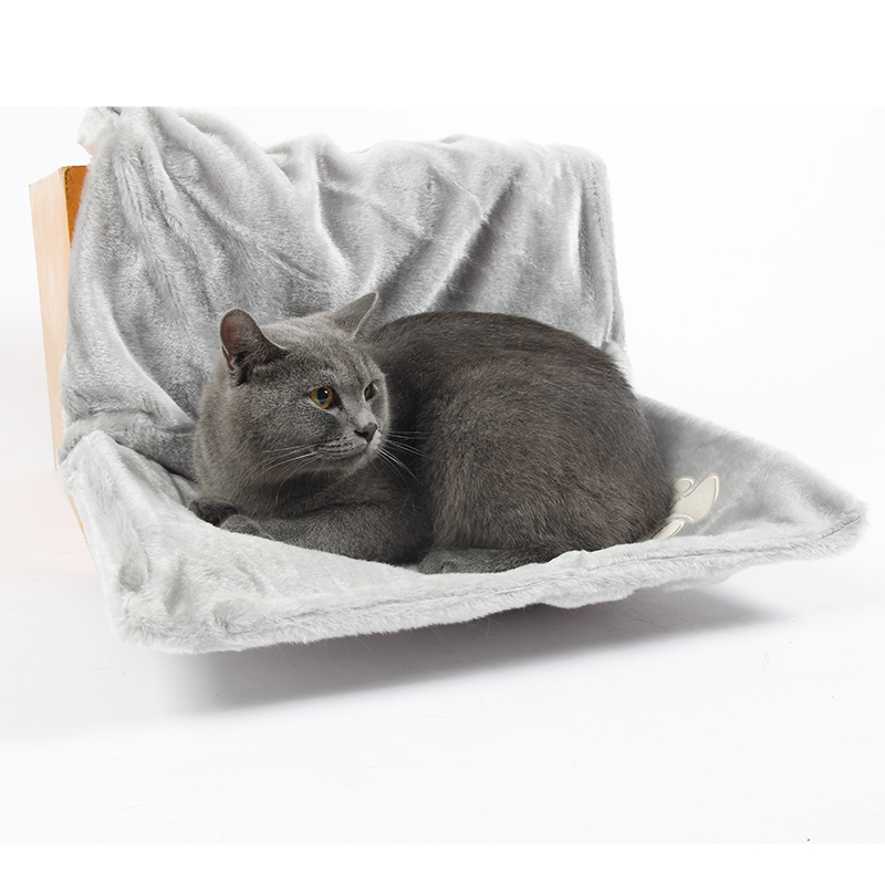 Radiator Hammock Cat Bed Shelf Bamboo Radiator Bed