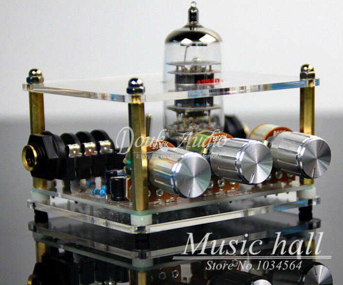 Music Hall Little Bear G2 12AU7 Vacuum Tube Effector Booster Overdrive Mini Guitar Pedal Tube Headphone Amplifier Free Shipping(China (Mainland))