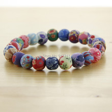 Fashion Bracelets Polymer Clay Bangles Colorful New Arrives Charm Vintage Jewelry Accessories Wholesale For Women(China (Mainland))