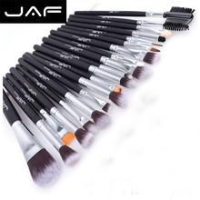 JAF Brand 20 pcs/set Makeup Brush Professional Foundation Eye Shadow Blending Cosmetics Make-up Tool 100% Vegan Synthetic Taklon(China (Mainland))