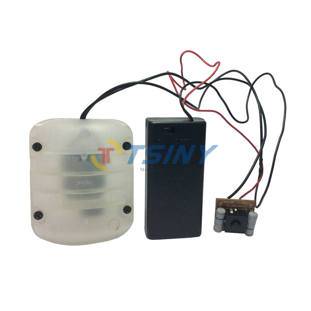 3 mode massager & sex toy Vibration Accessories DC Motor with AA Battery box,Free Shipping(China (Mainland))