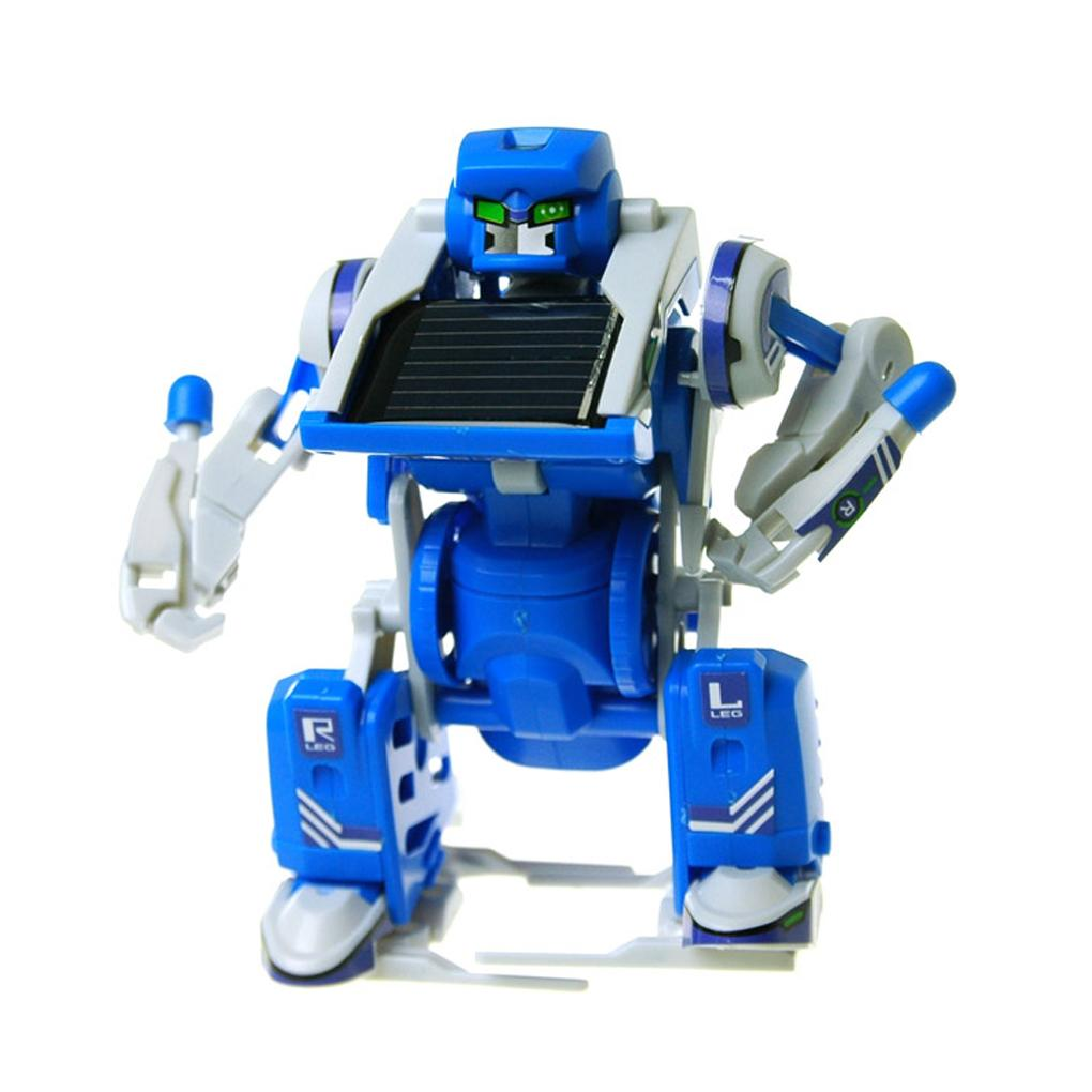 3-in-1 Educational Solar Power Transforming Robot Science Kit Educational Toy for Kids HM0107(China (Mainland))