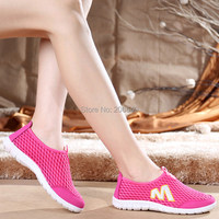 Men and women fashion breathable mesh shoes single low help students shoes sneakers loafers