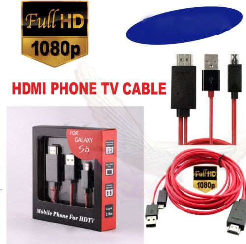 MHL HDMI Cable Adapter Micro USB Cable Transfer 1080P Video to TV 2M For Samsung S3 S4 S5 Note 2 3 4 Samsung Tablet(China (Mainland))