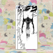 340HJ Evangelion Hard Case Cover for Huawei P6 P7 P8 P9 Lite Plus Honor 6 7 4C 4X G7
