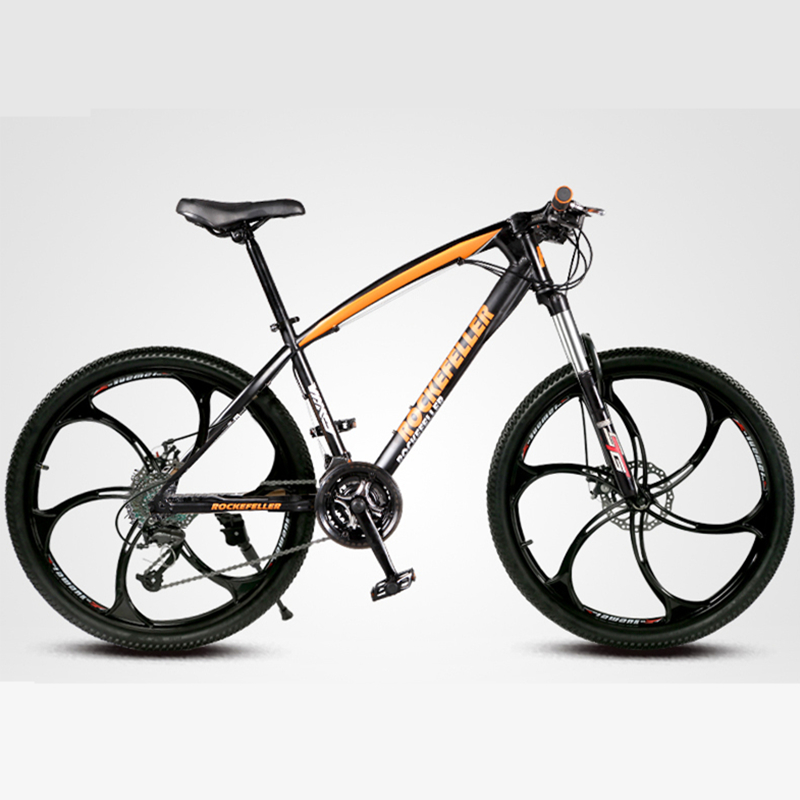 """21/27 Speeds, 26"""", Cycling Mountain Bike, Lockable Front Fork, Magnesium Alloy Rim, Double Disc Brake(China (Mainland))"""