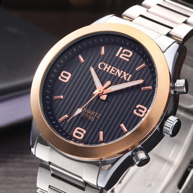 Mens fashion quartz  watch top brand luxury CHENXI Wristwatch full steel montre homme Quartz Wrist Watches relojes hombre<br><br>Aliexpress