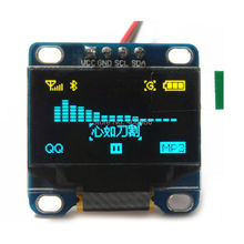 0.96″ Inch Yellow and Blue I2C IIC Serial 128X64 OLED LCD LED Display Module for Arduino 51 MSP420 STIM32 SCR