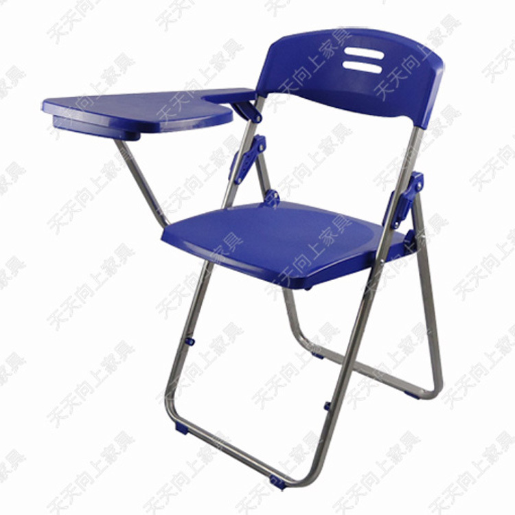 plastic folding chair with writing tablet high quality school chair study roo