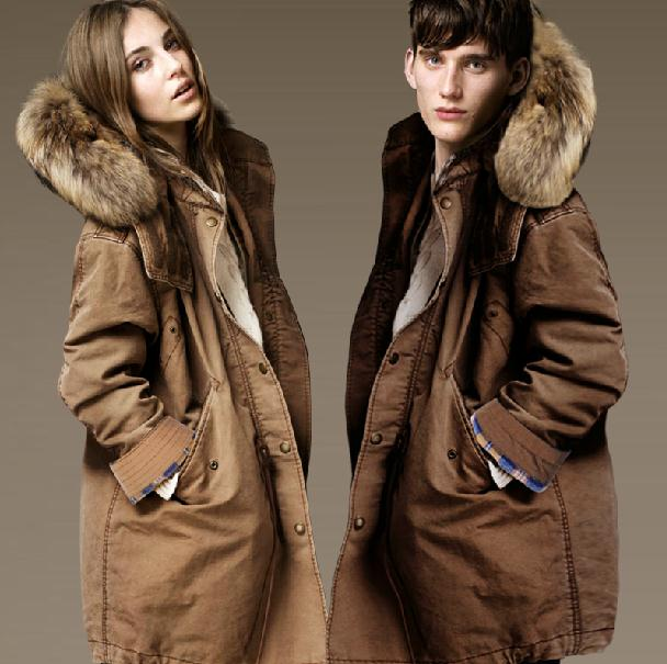 2015 Winter New Medium style Couples cotton-padded jacket Men With Plush Thicked keep warm Coat Man Women OUTERWEAR Tops S-5XLОдежда и ак�е��уары<br><br><br>Aliexpress