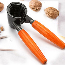 A Stylish High Quality Nut Cracker Sheller Walnut Pliers Metal Opener Nut Tool(China (Mainland))