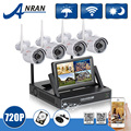 Anran Plug And Play 7 Inch LCD Screen Wireless NVR Kit CCTV System 720P HD WIFI